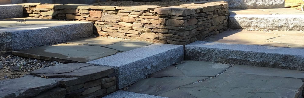 Truro Stone Walkway